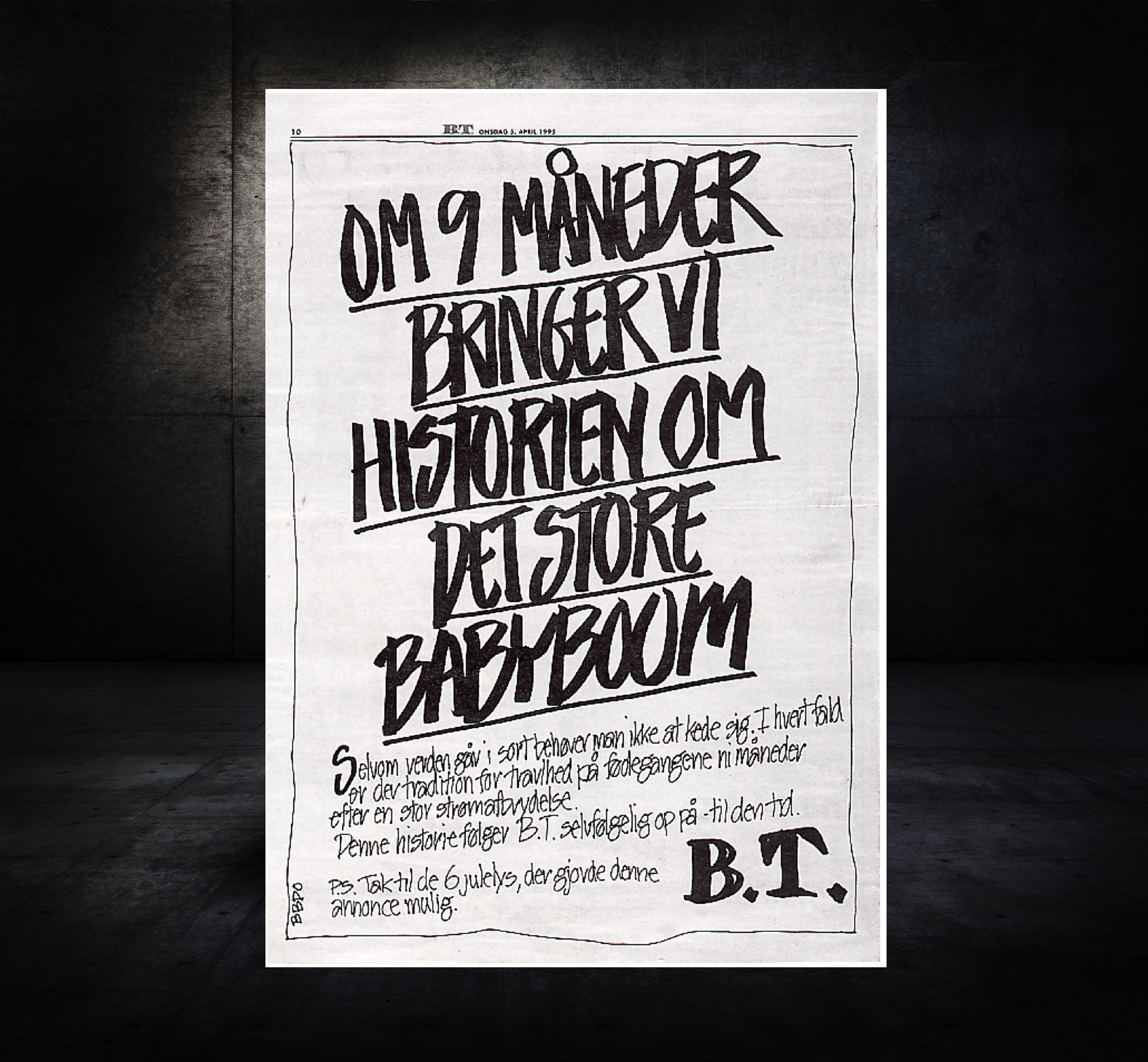 B.T. Newspaper